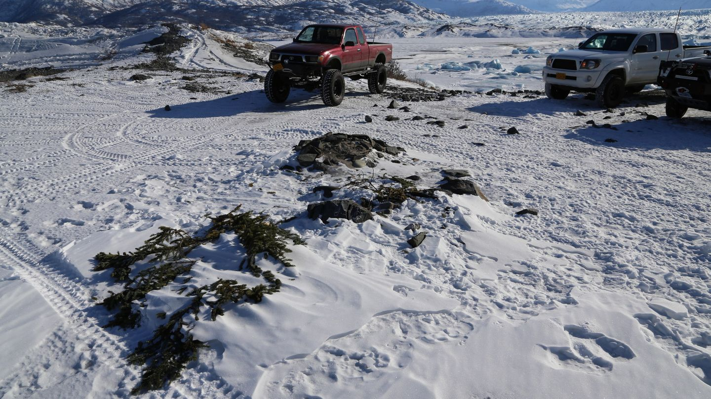 Camping: Knik Glacier Trail