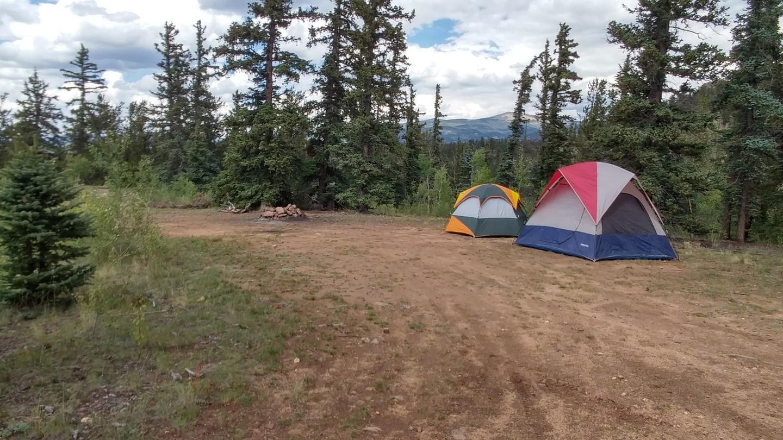Camping: Bordenville Gulches