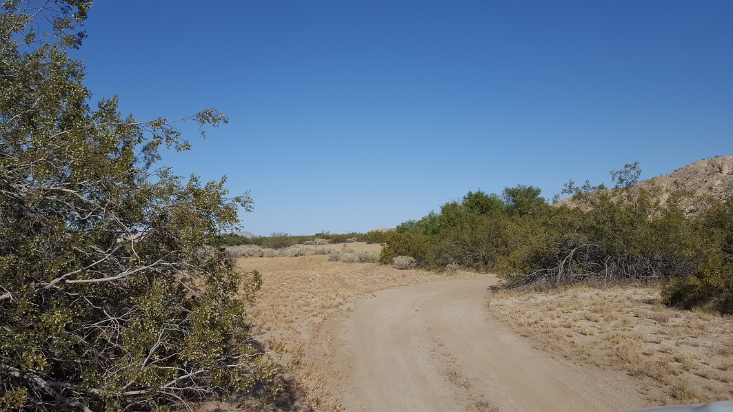 South Carrizo Creek - Anza Borrego - Waypoint 2: Views Along The Route