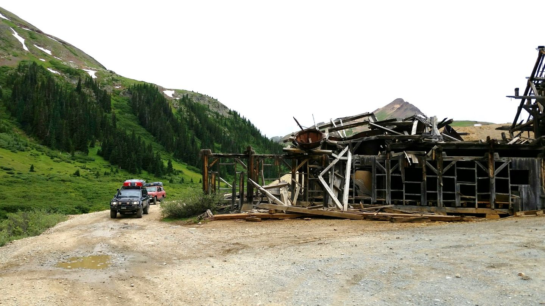 California Pass - Waypoint 5: Frisco Mill