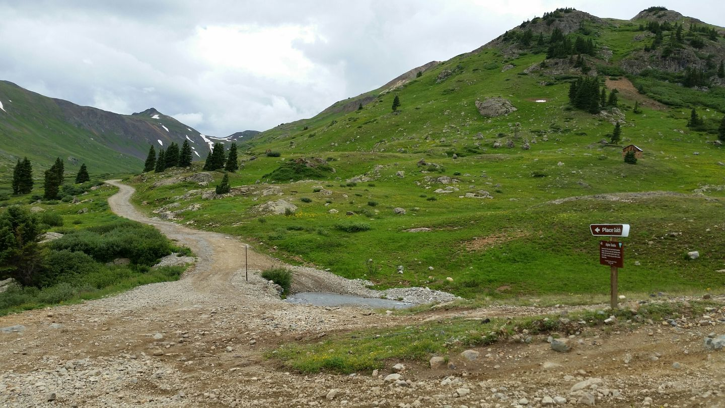 California Pass - Waypoint 4: Placer Gulch Intersection
