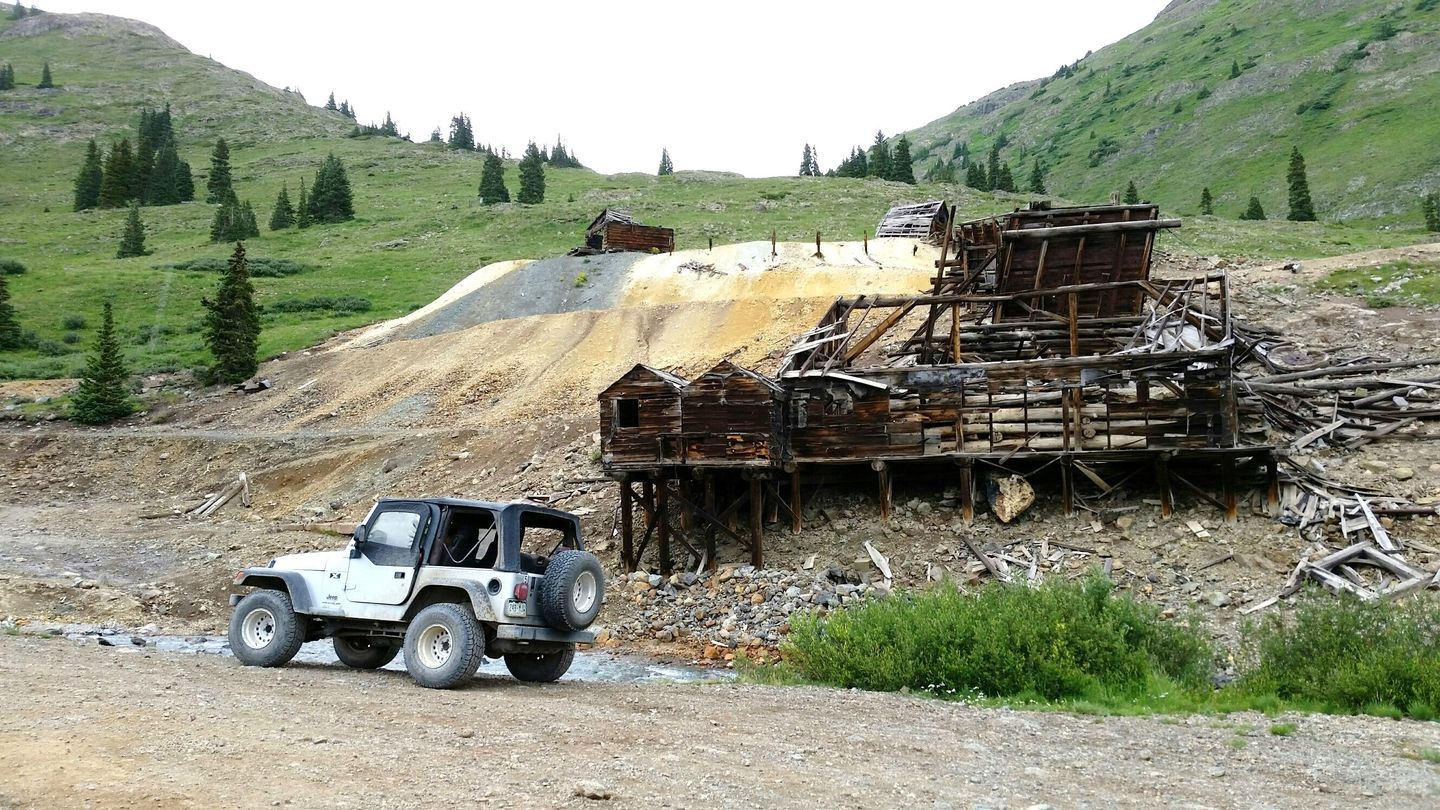 California Pass - Waypoint 6: Animas Forks Ghost Town