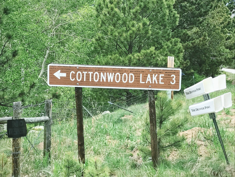 Cottonwood Lake - Waypoint 1: Trailhead