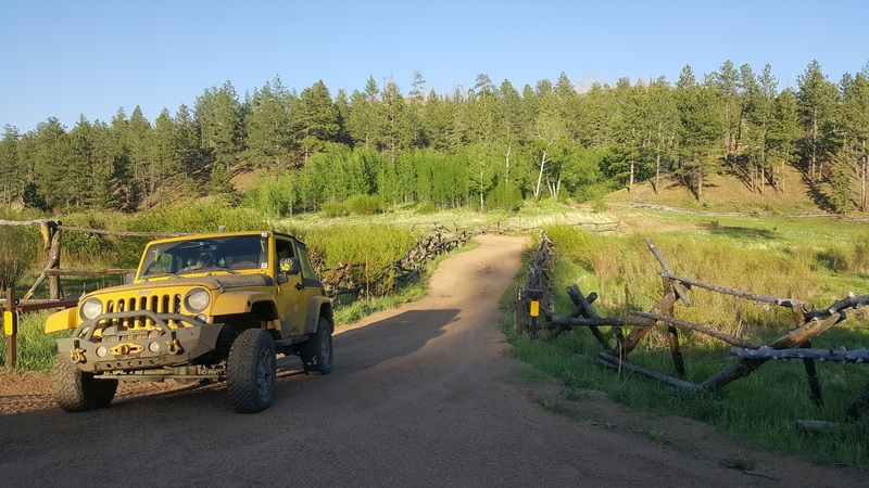 Manchester (Manchester Creek) - Waypoint 18: End at Trail Creek (FS 363) - West Entrance