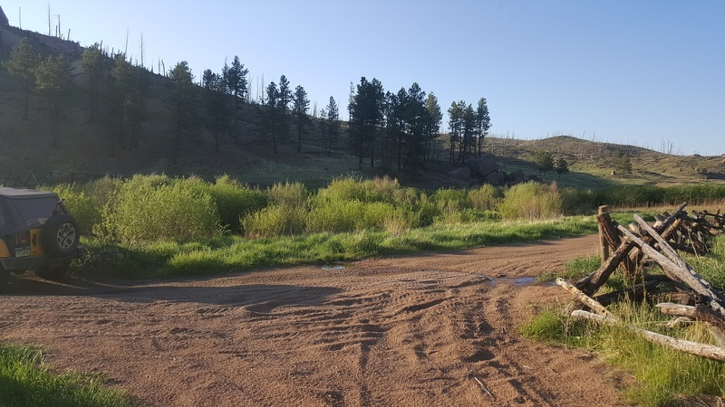 Manchester (Manchester Creek) - Waypoint 17: Private Road
