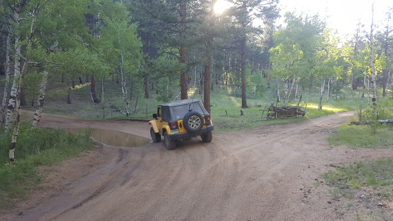 Manchester (Manchester Creek) - Waypoint 13: Intersection with 972 Campsite