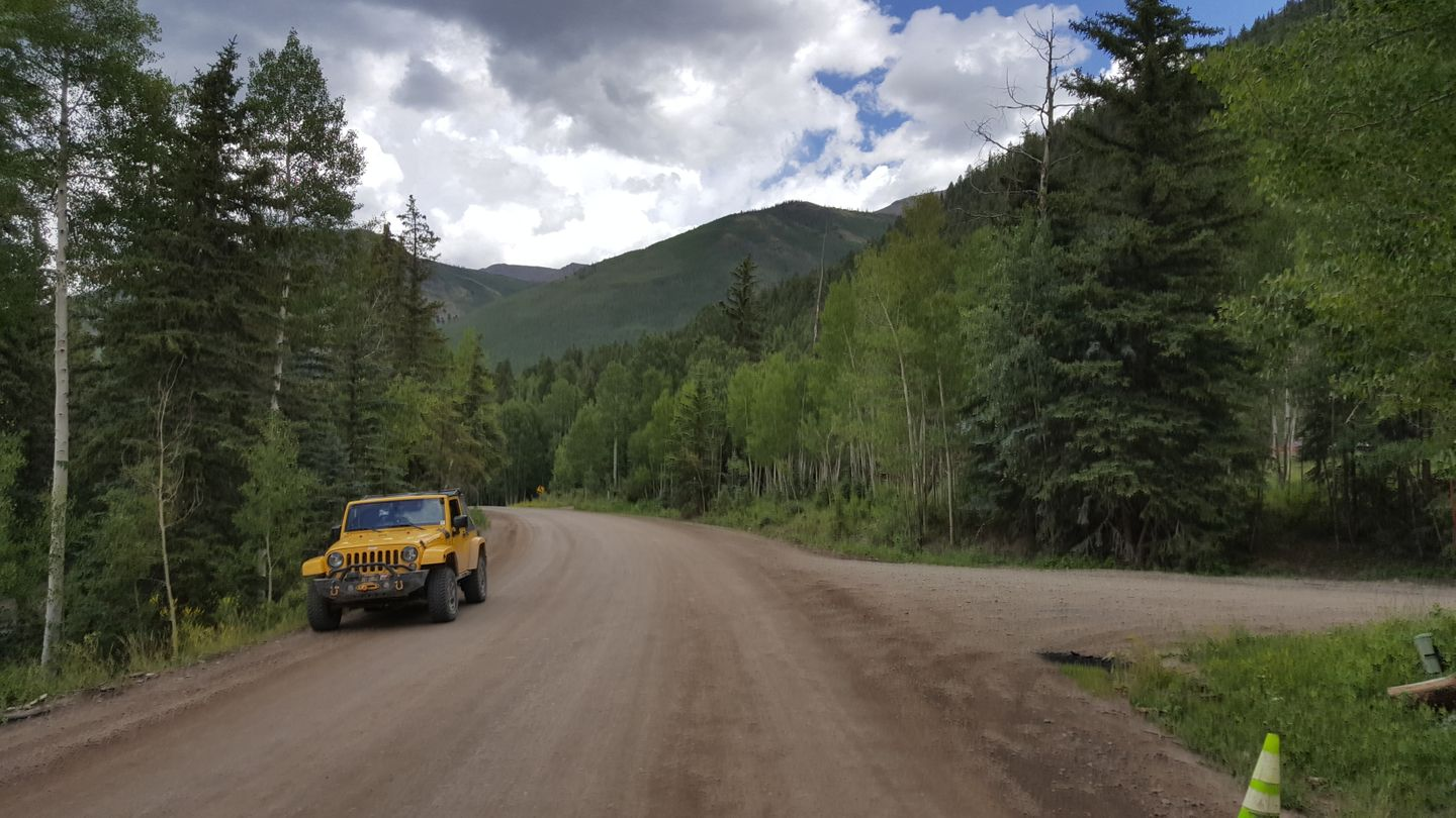 Cinnamon Pass - Waypoint 6: Intersection with CR 36