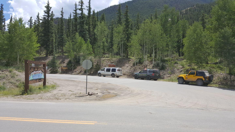 Cinnamon Pass - Waypoint 1: Trailhead