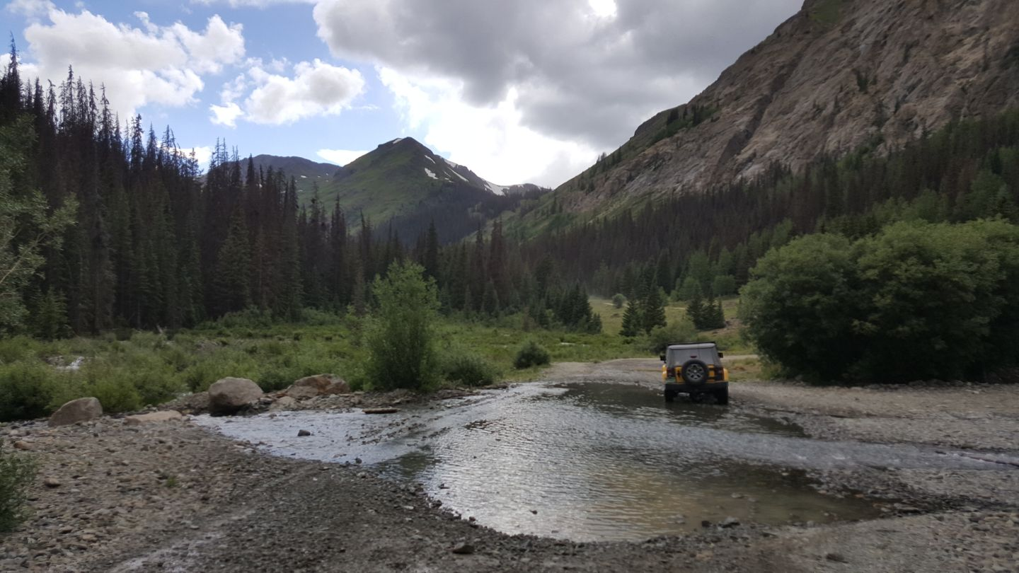 Cinnamon Pass - Waypoint 15: Creek Crossing / Waterfall