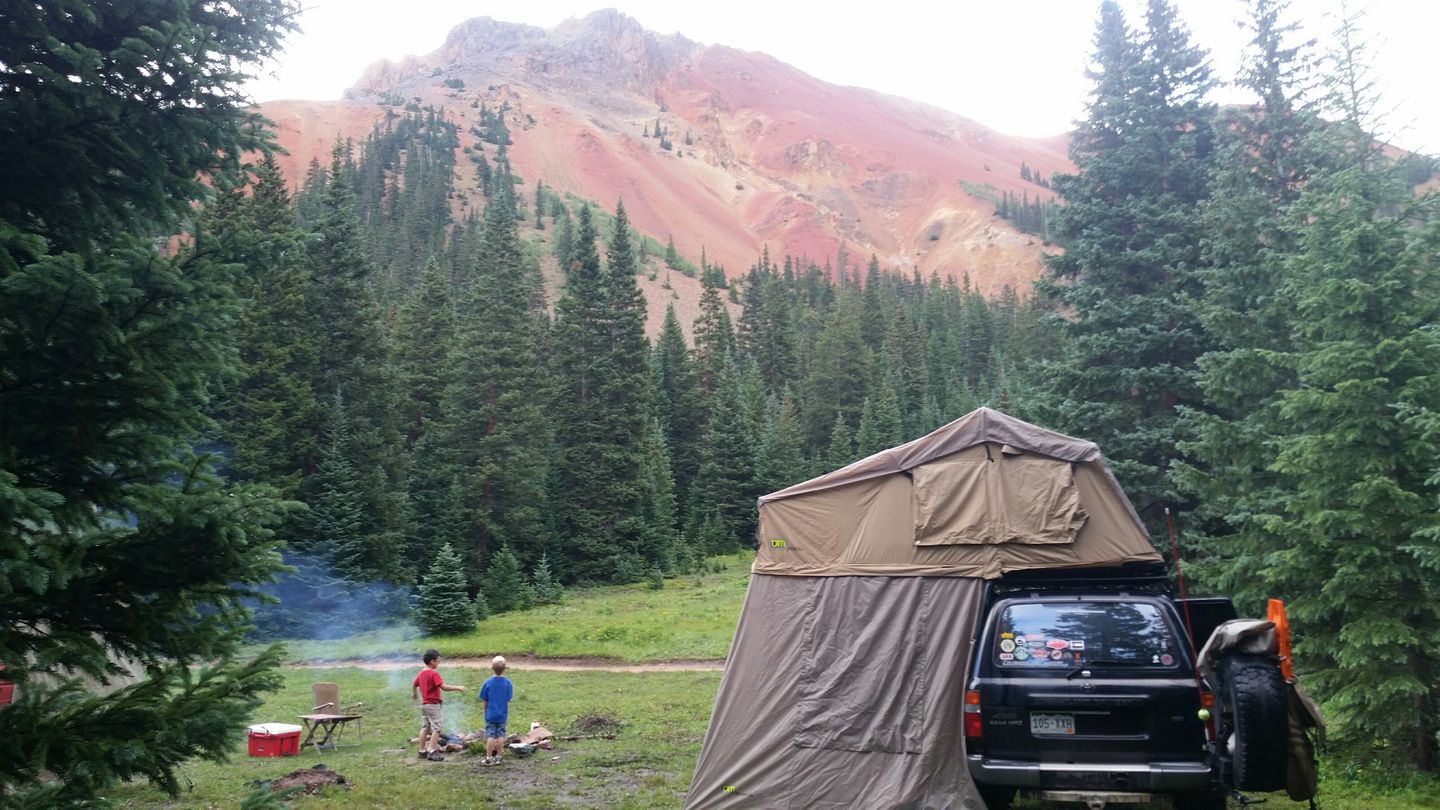 Camping: Black Bear Pass