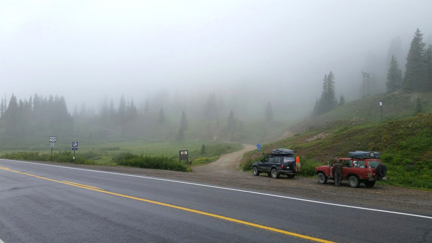 Black Bear Pass - Waypoint 1: Trailhead