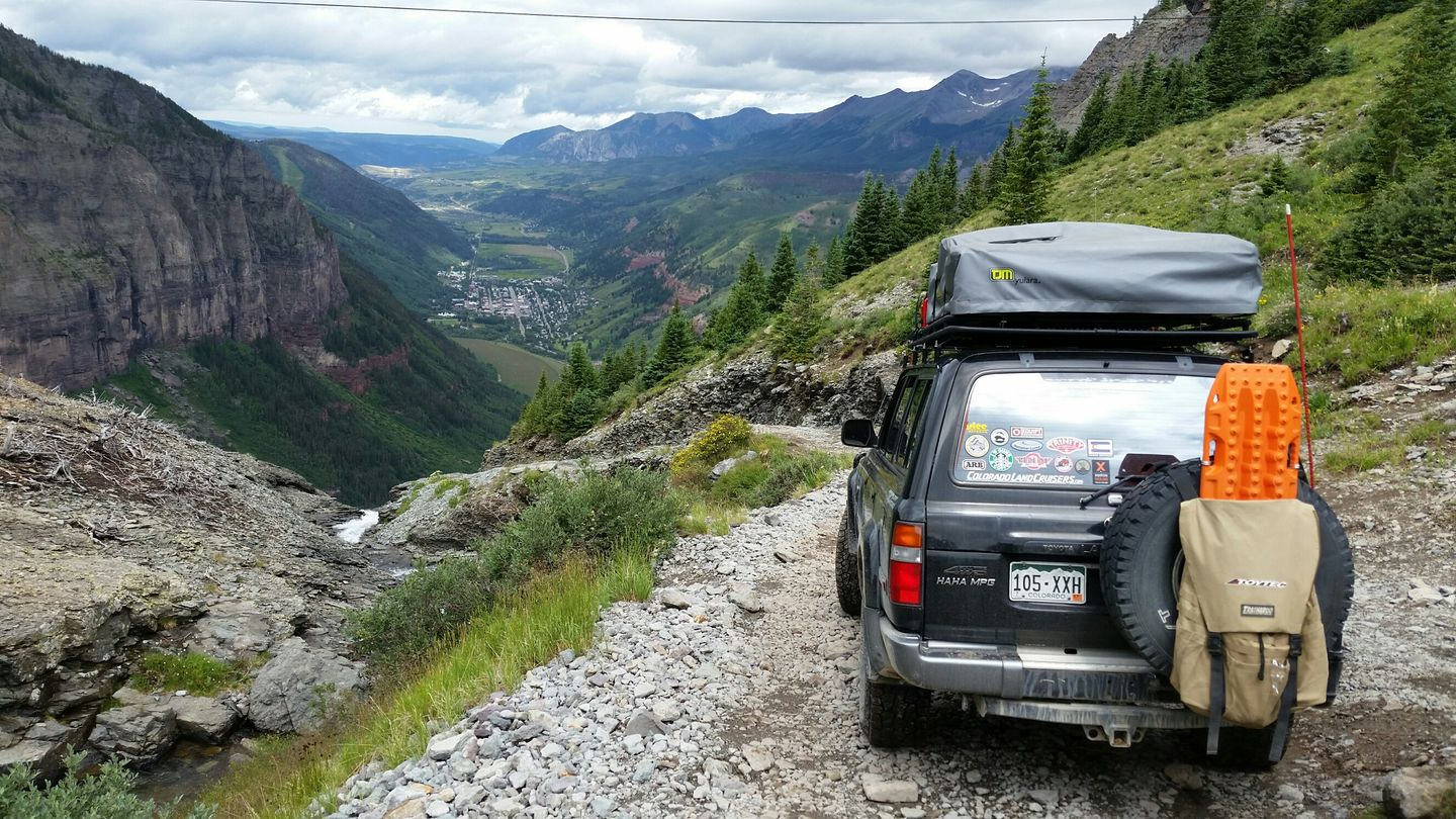 Black Bear Pass - Waypoint 8: The Steps