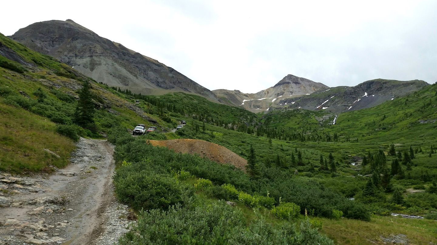 Black Bear Pass - Waypoint 7: Downhill Only From This Point On