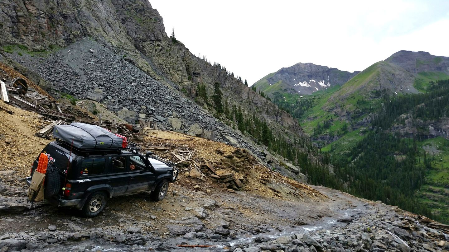 Black Bear Pass - Waypoint 9: Ingram Falls