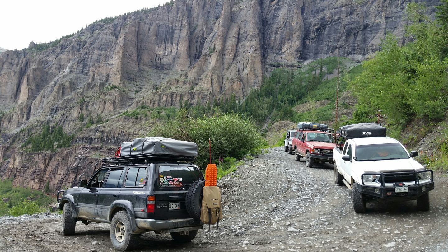 Black Bear Pass - Waypoint 12: Bridal Veil Falls