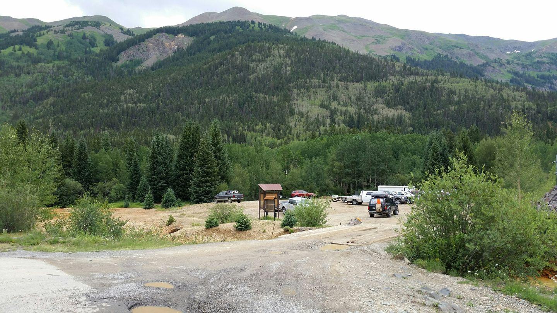 Corkscrew Pass - Waypoint 1: Trailhead