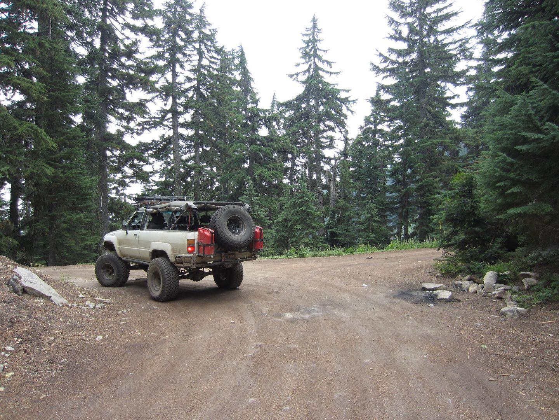Bennett Pass Road - Waypoint 7: Turn Northeast at 4891