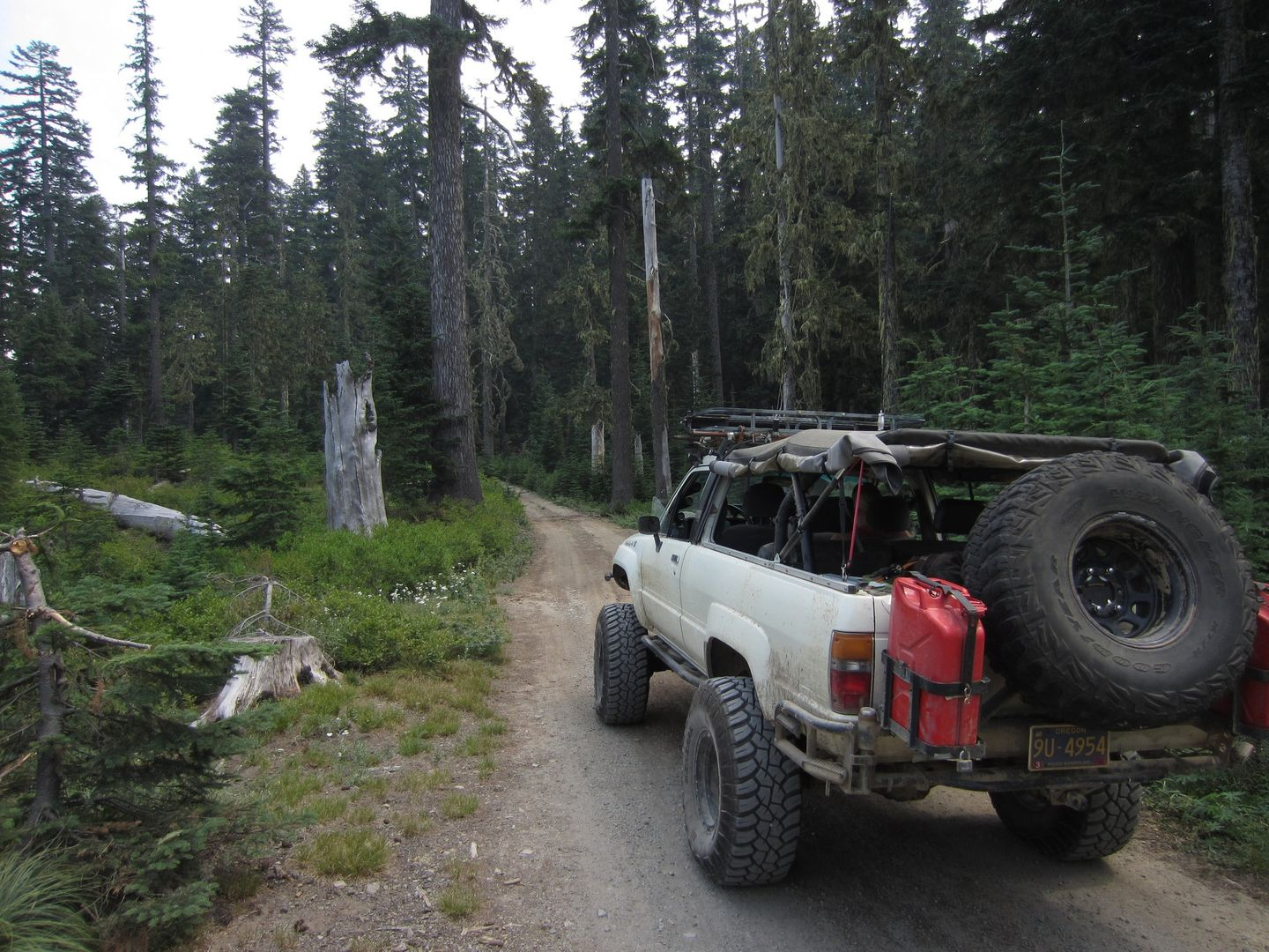 Bennett Pass Road - Waypoint 5: Stay East at 3550-240