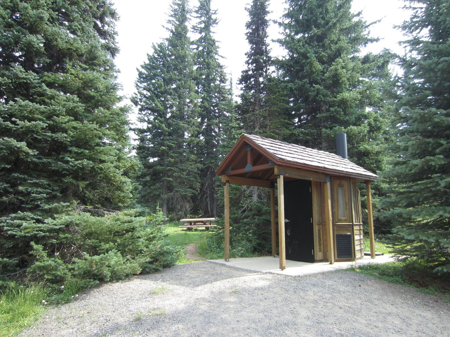 Bennett Pass Road - Waypoint 13: Staging Area and Restrooms