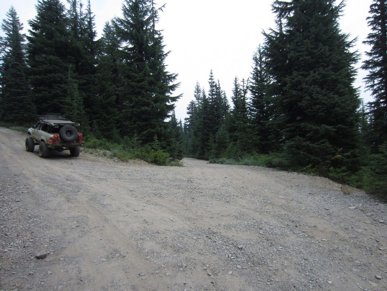 Bennett Pass Road - Waypoint 8: Stay Northeast at 4860