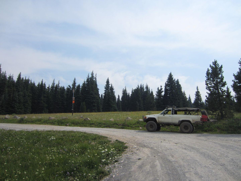 Bennett Pass Road - Waypoint 12: Trail End
