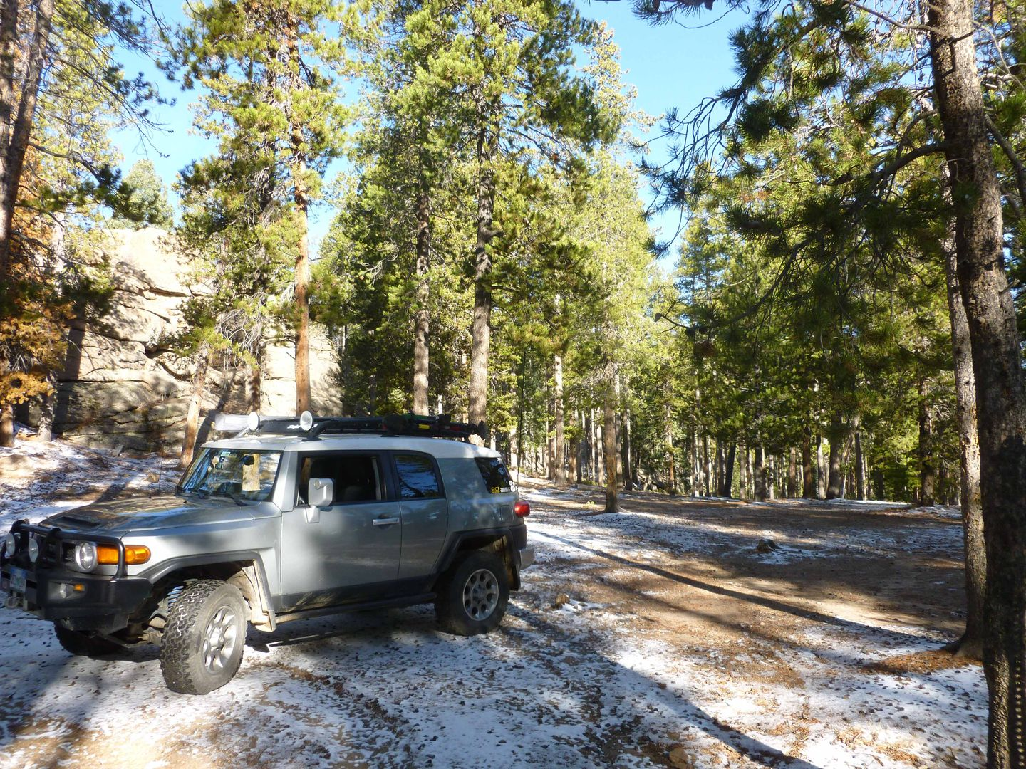 Dakan Road - Waypoint 1: Begin Private Property and NF access