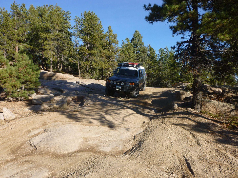Dakan Road - Waypoint 3: Rock Obstacle