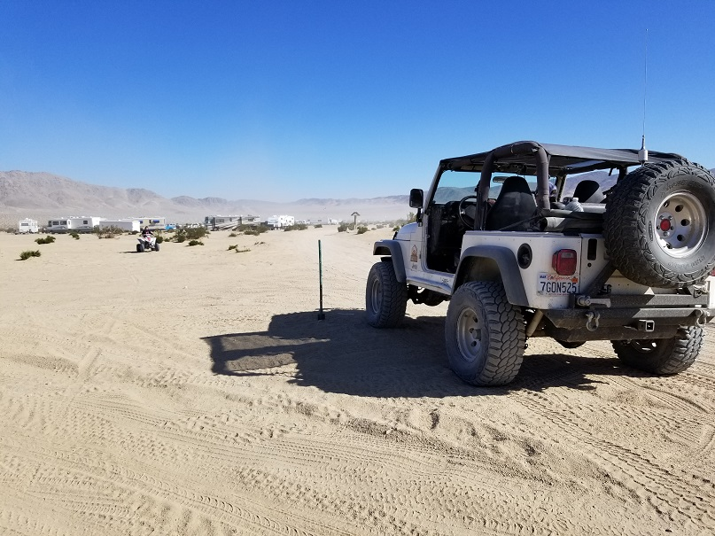 Boone Road - Johnson Valley - Waypoint 6: Desert Run Road