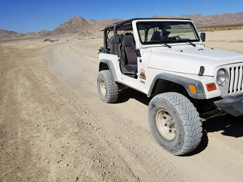Boone Road - Johnson Valley - Waypoint 7: Means Dry Lake (AKA Hammer Town)