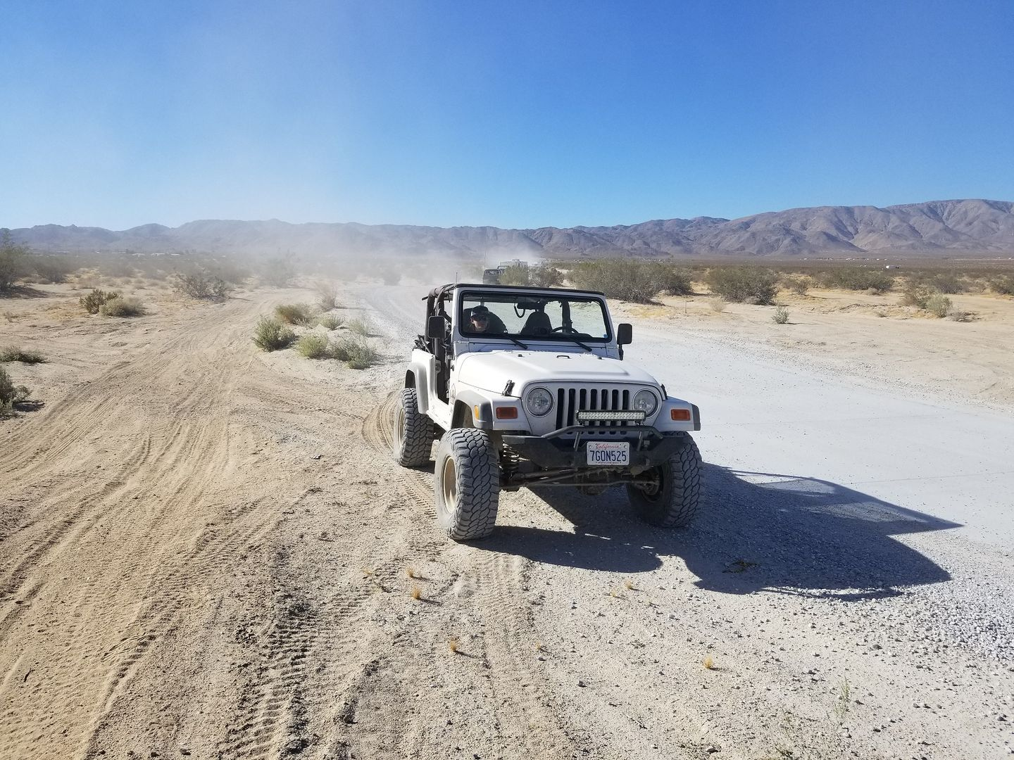 Boone Road - Johnson Valley - Waypoint 2: Wash Crossing