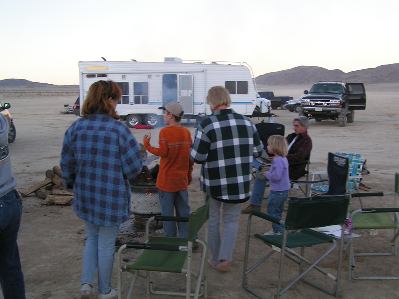 Camping: Means Dry Lake - Johnson Valley
