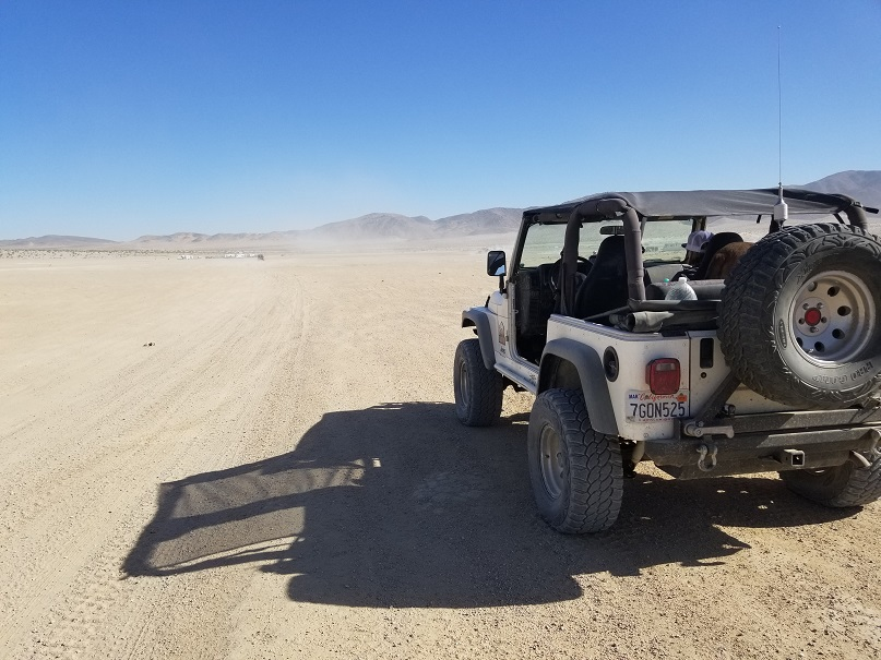 Means Dry Lake - Johnson Valley - Waypoint 1: Means Dry Lake and Boone Road