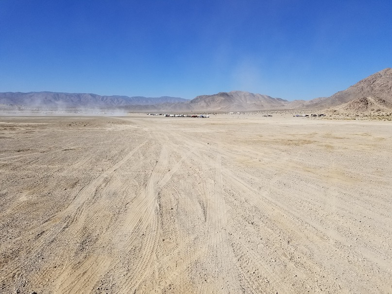 Means Dry Lake - Johnson Valley - Waypoint 3: Road to Sand Hill and Clawhammer Area