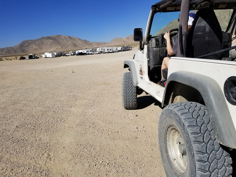 Means Dry Lake - Johnson Valley - Waypoint 6: End of Loop