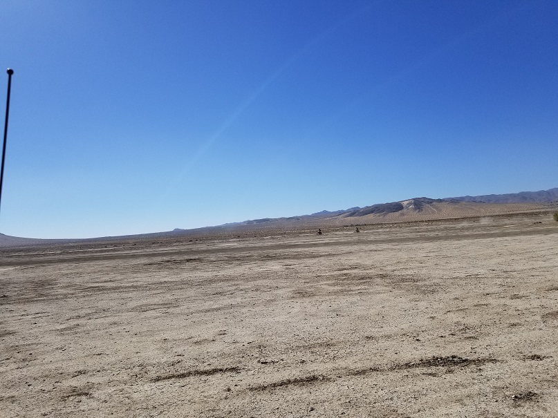 Means Dry Lake - Johnson Valley - Waypoint 5: Bomb Craters