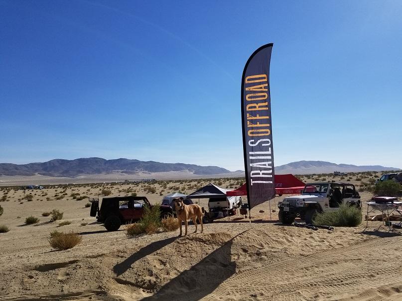 Camping: Morongo Basin Desert Run Road - Johnson Valley