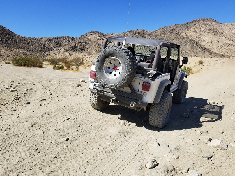 Morongo Basin Desert Run Road - Johnson Valley - Waypoint 3: Turkey Claw