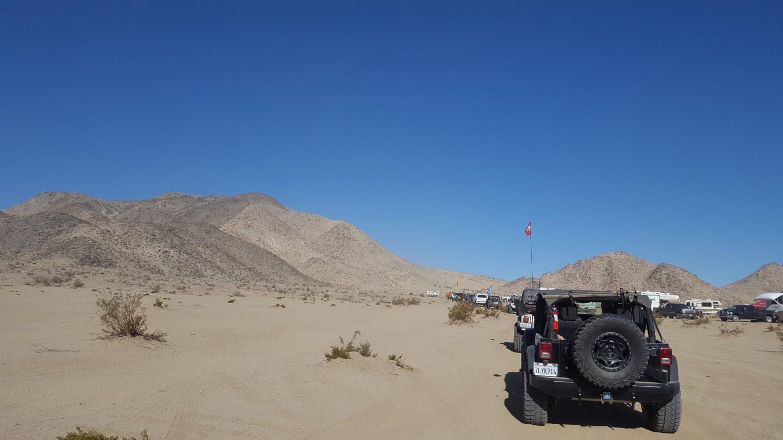Morongo Basin Desert Run Road - Johnson Valley - Waypoint 4: Mommas Sand Hill and Desert Run Road