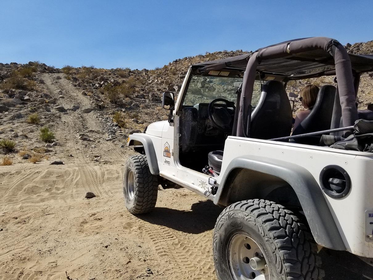 Morongo Basin Desert Run Road - Johnson Valley - Waypoint 2: Cut-off To Camp Rock Overlook
