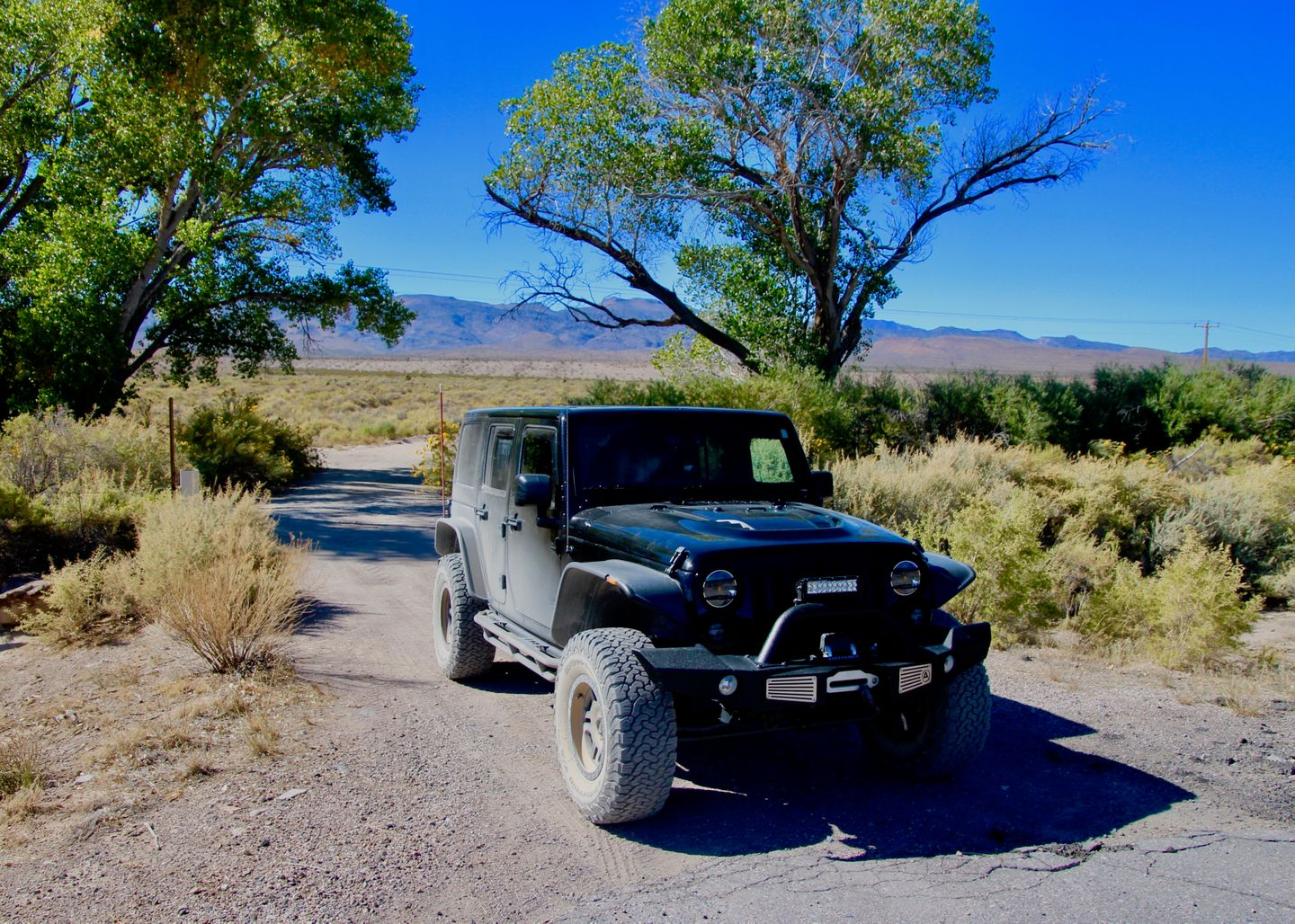 Badger Valley Loop Nevada - Waypoint 15: End