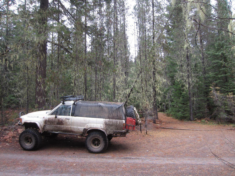 Barlow Trail - Waypoint 26: Go Straight
