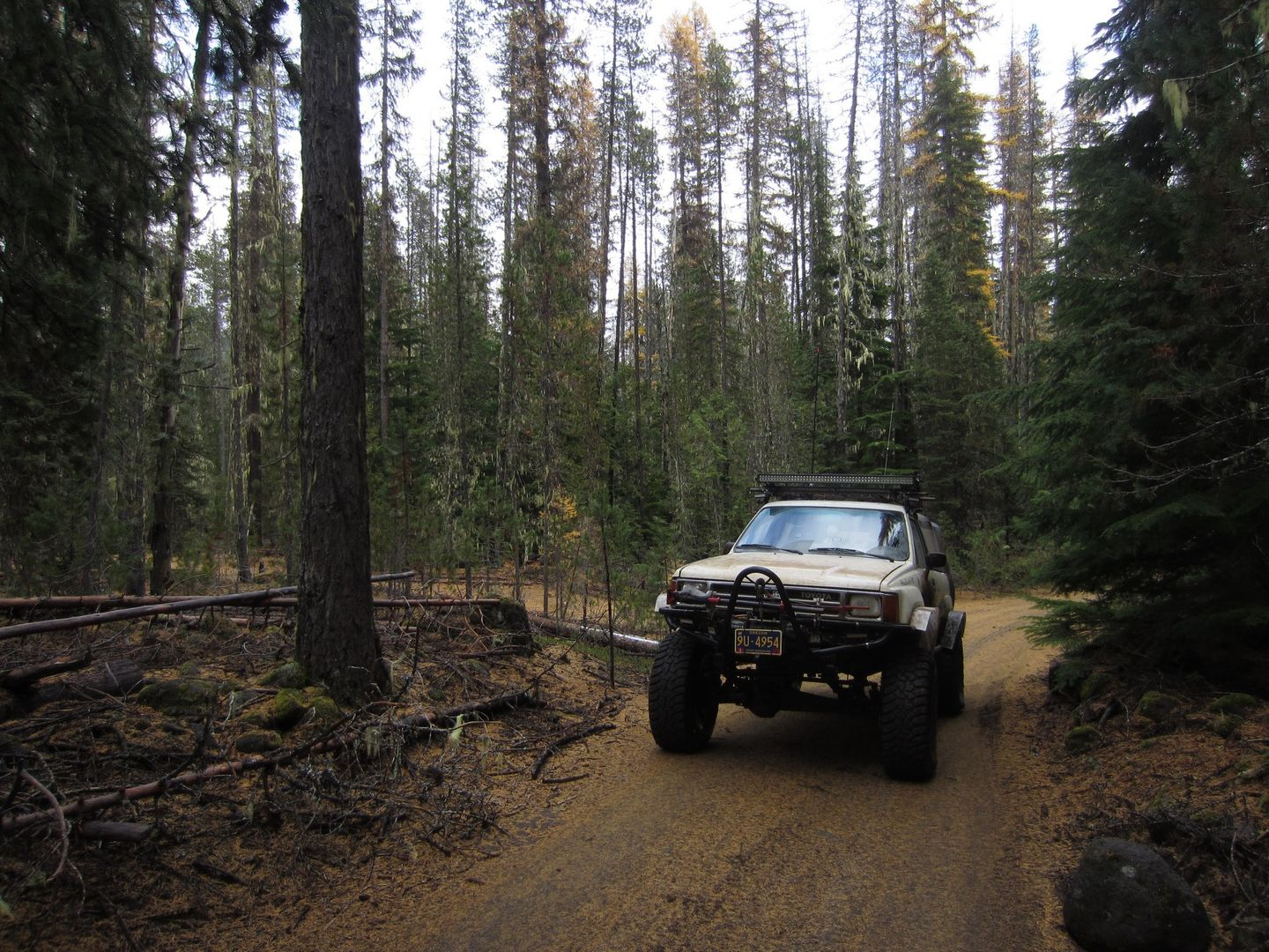 Barlow Trail - Waypoint 33: Continue Straight