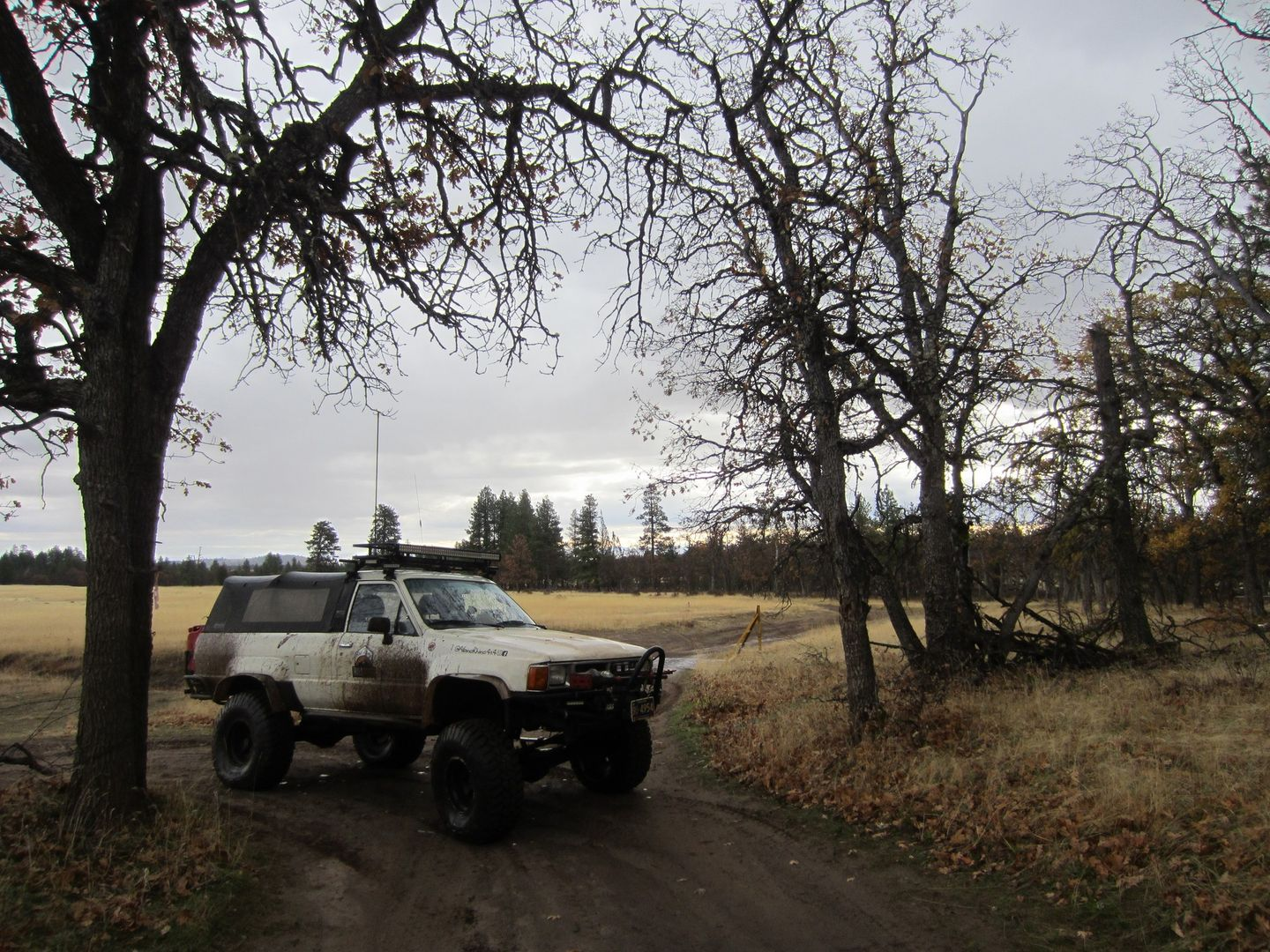 Barlow Trail - Waypoint 5: Turn Right - End of Smock Road
