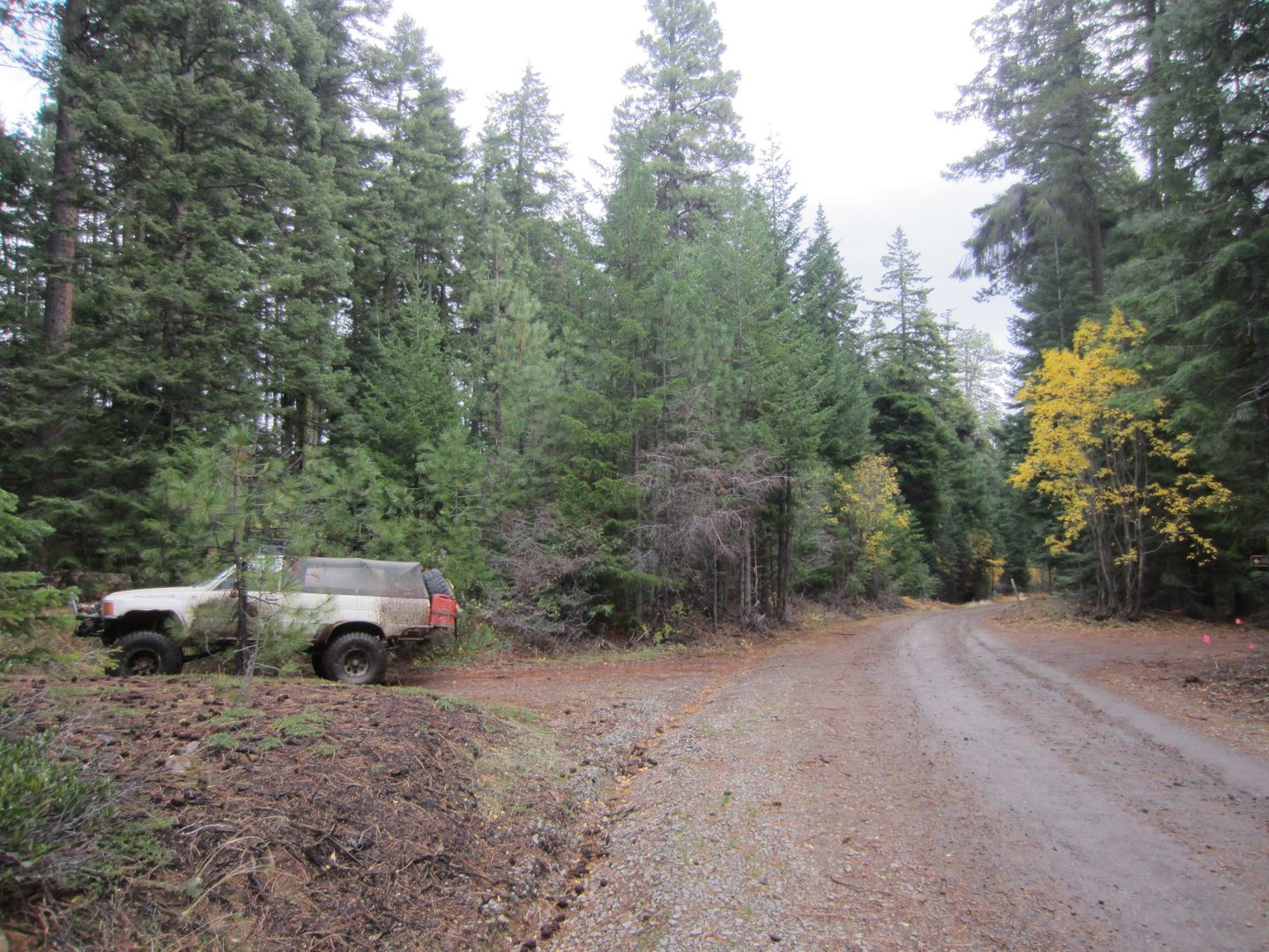 Barlow Trail - Waypoint 10: Continue Straight