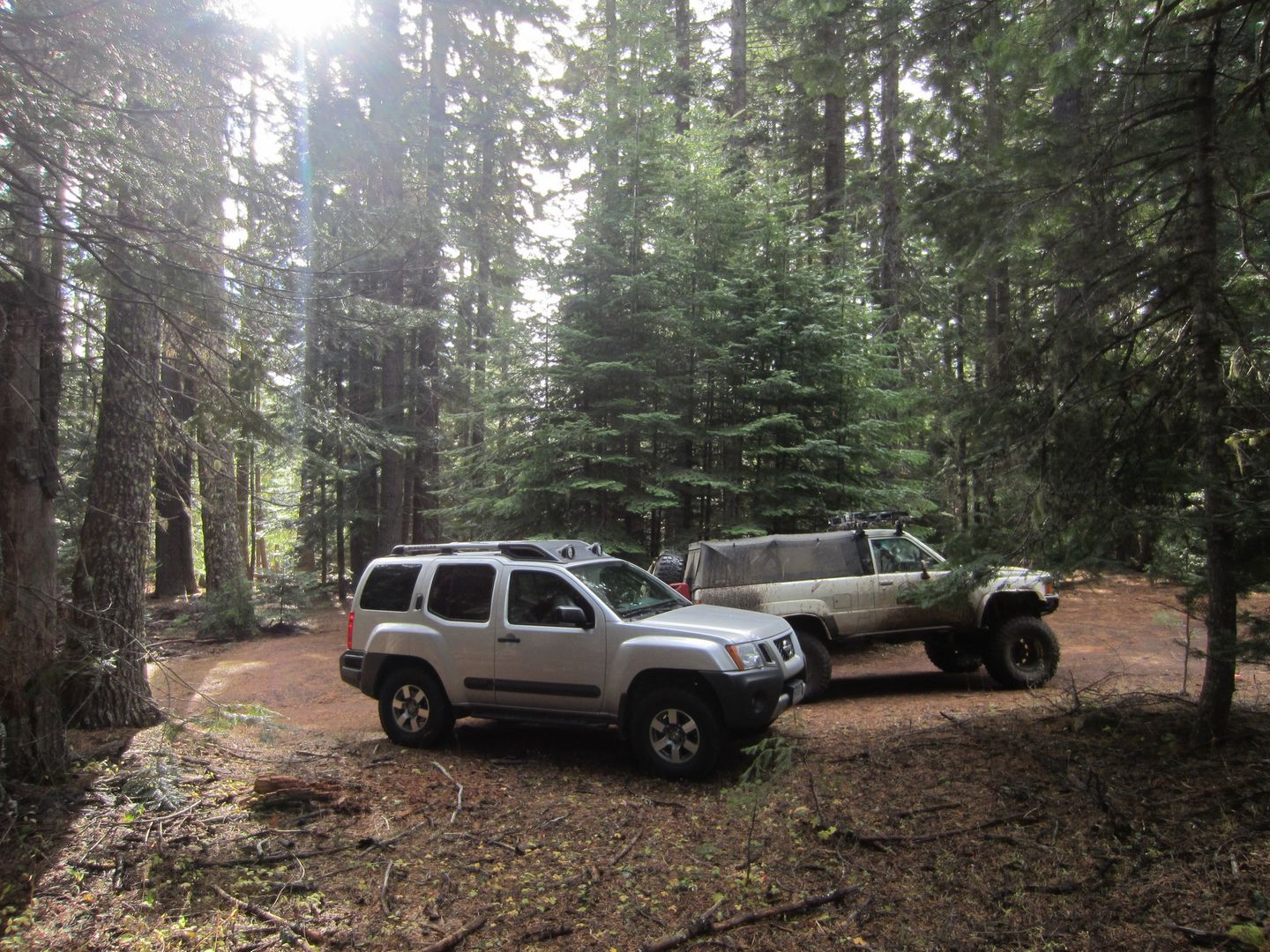 Barlow Trail - Waypoint 11: Stay to the Right