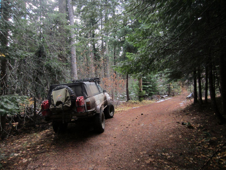 Barlow Trail - Waypoint 12: Emigrant Springs