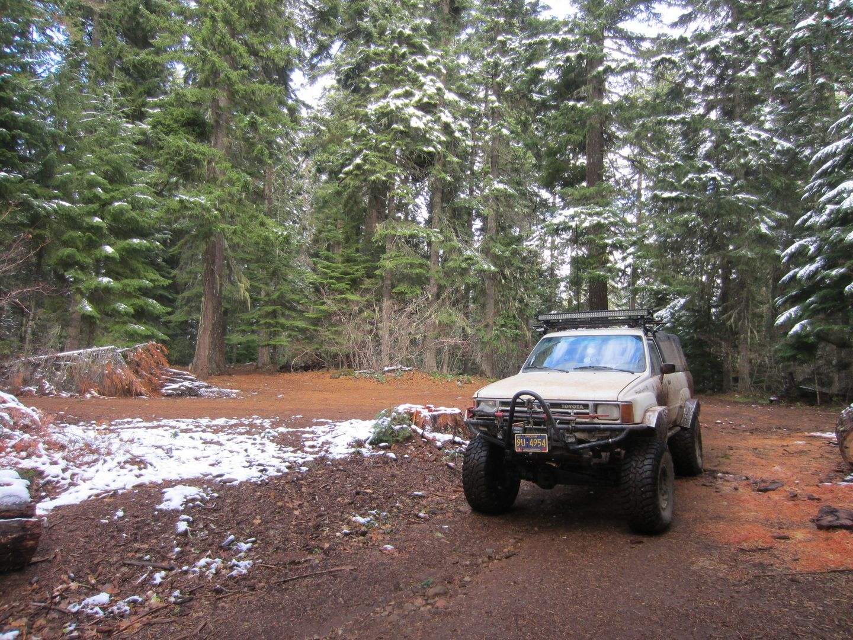 Barlow Trail - Waypoint 21: Go Left