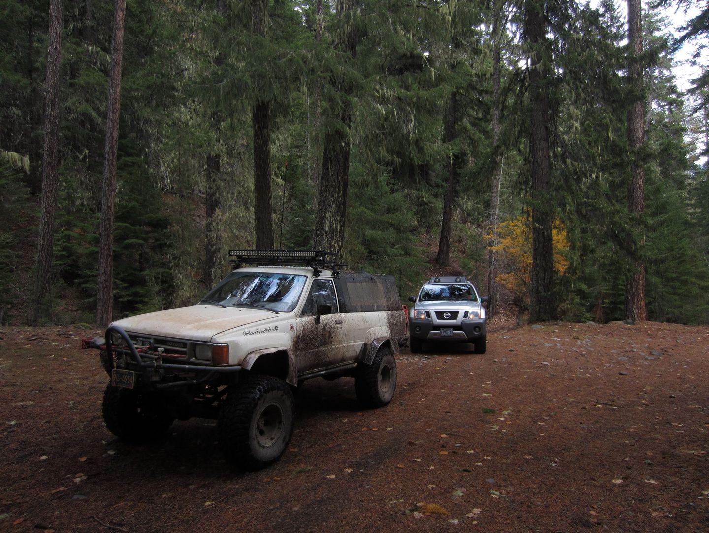Barlow Trail - Waypoint 22: Go Straight