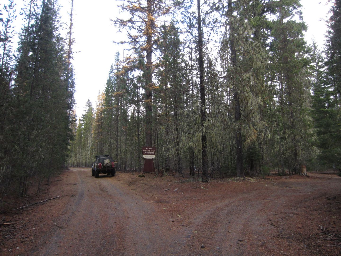 Barlow Trail - Waypoint 32: Barlow Crossing Campground