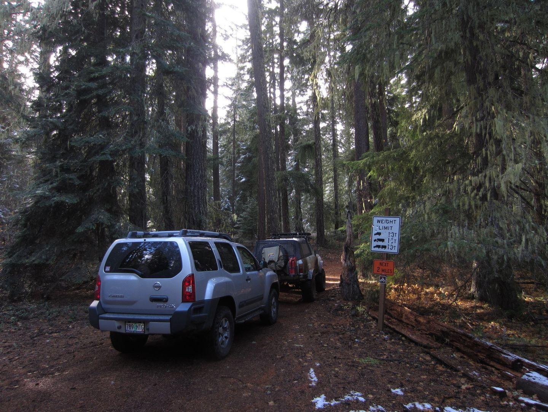 Barlow Trail - Waypoint 20: Go Left